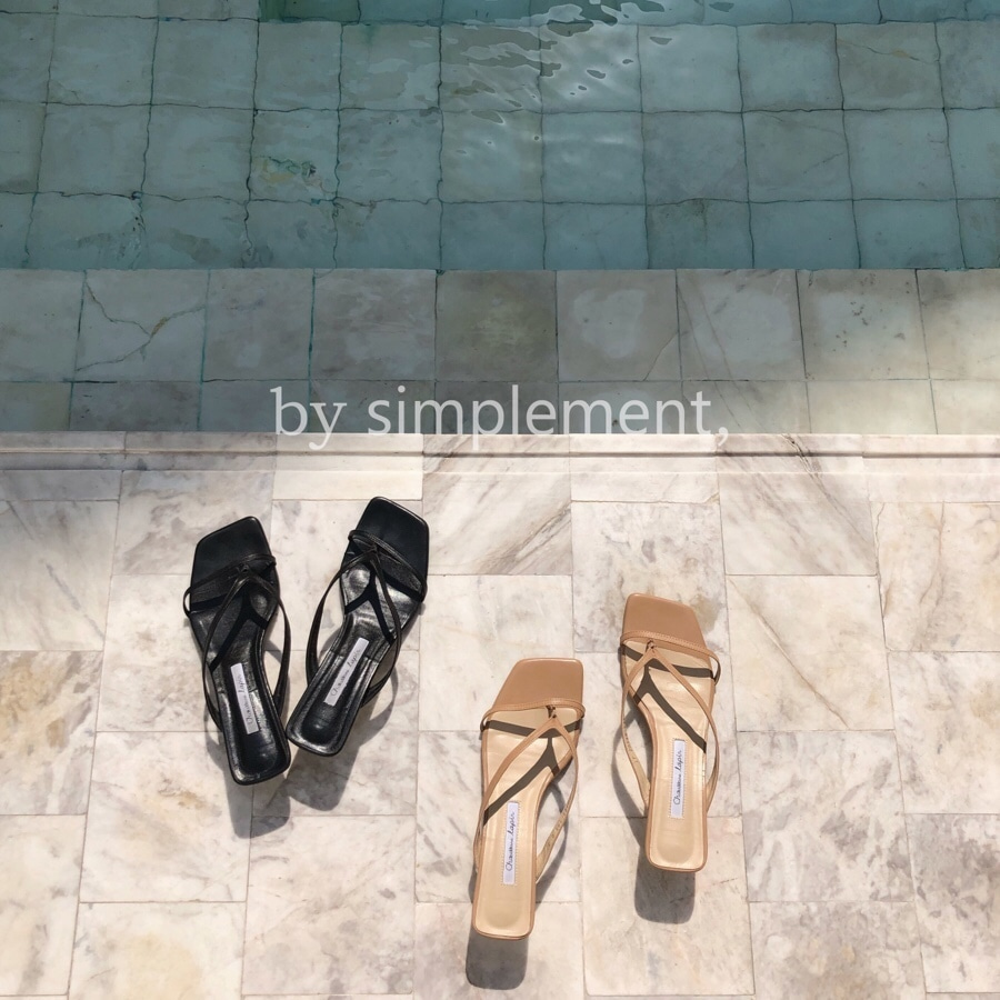 Lucia Sandal by simplement,