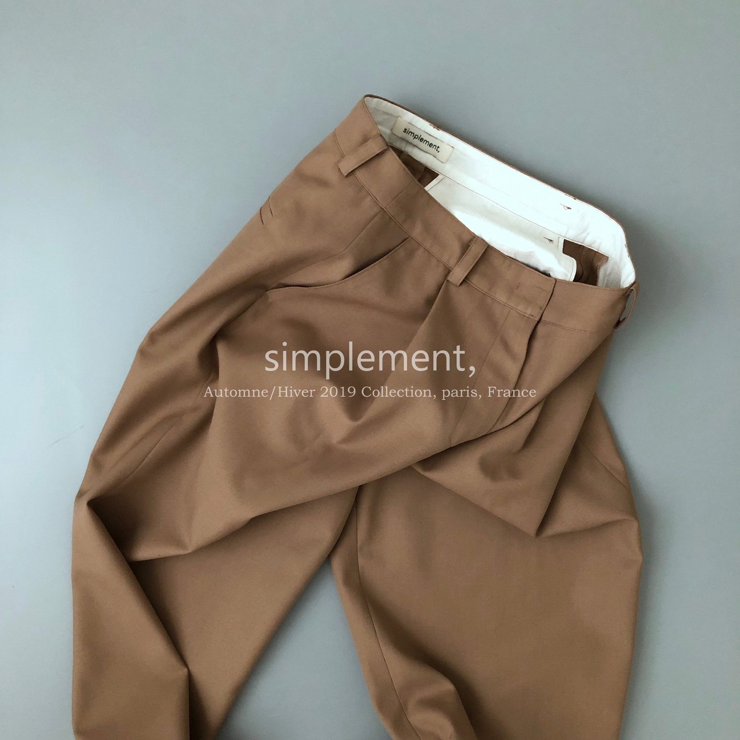 109 Nauman Pantalon in Beige