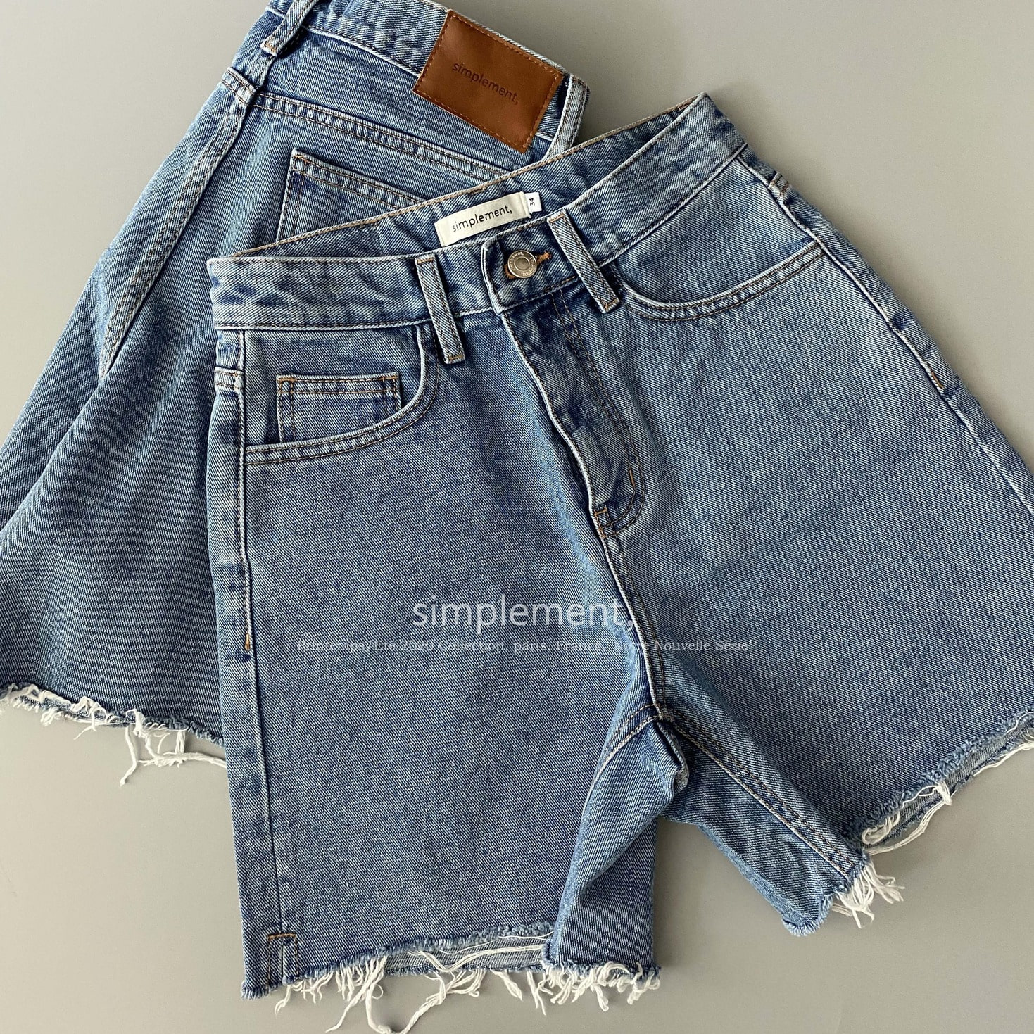 142 Juin Denim Shorts