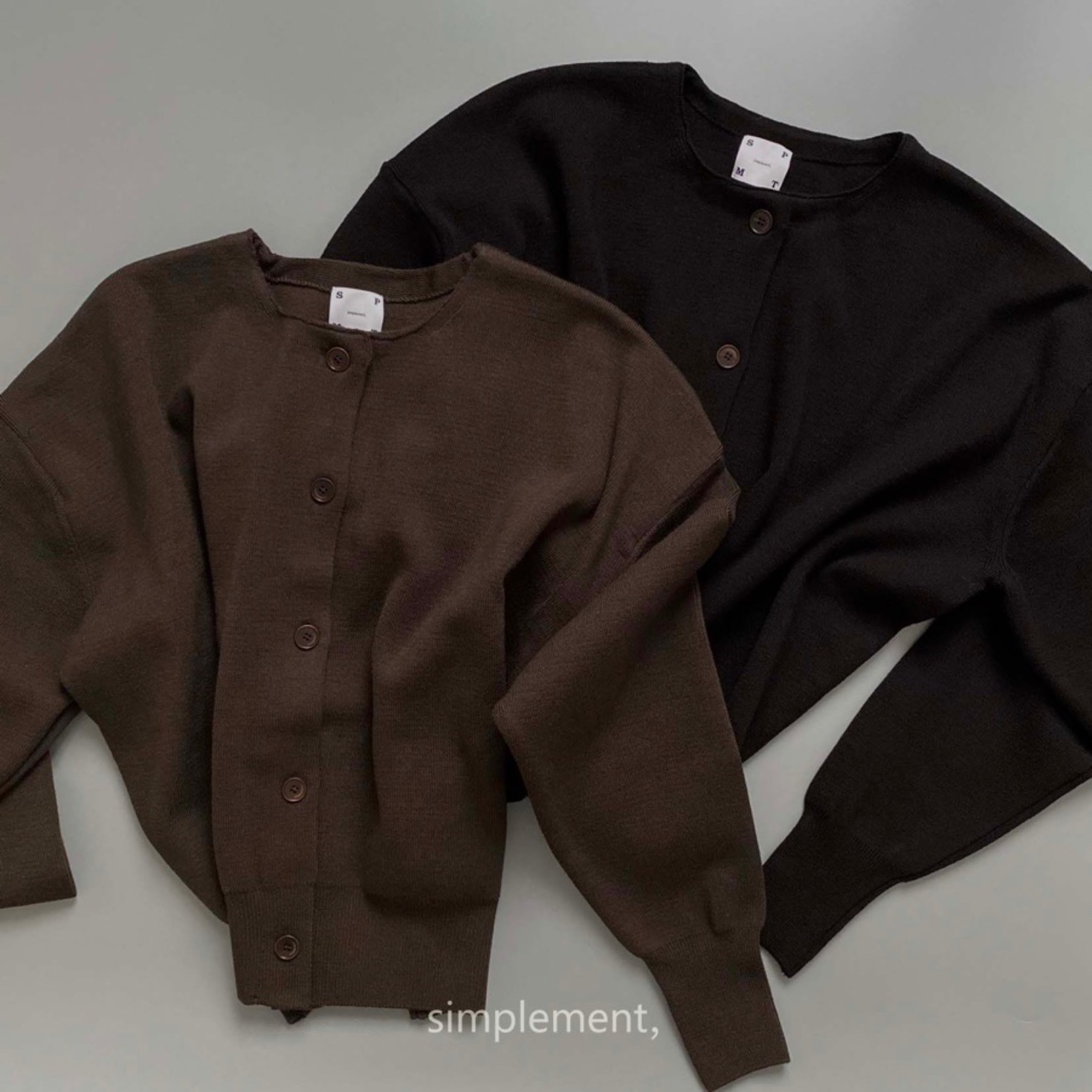 168 Le Rond Cardigan in Chocolate