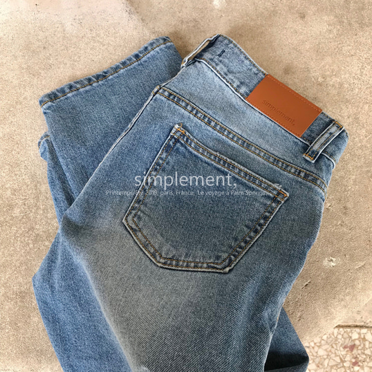 050 Sage Cropped Jeans