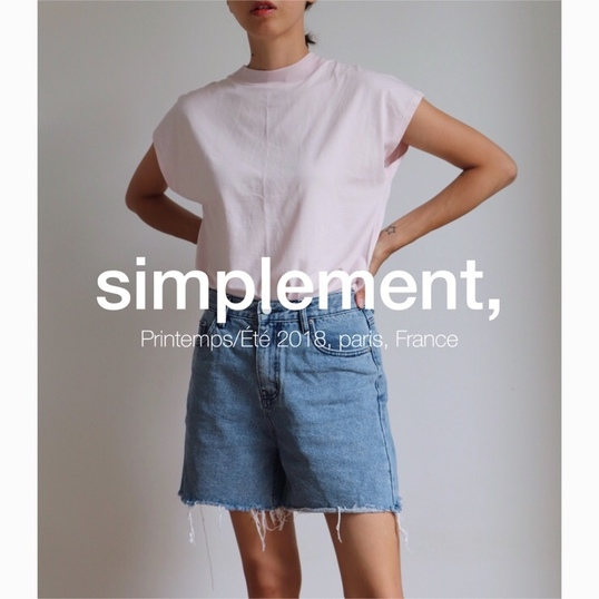 simplement, 063 Mont T-shirt