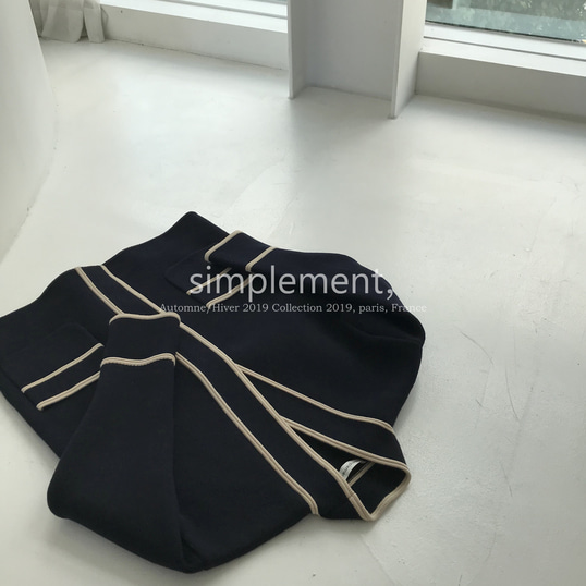 106 Martine Cardigan in Navy (4th Reorder)