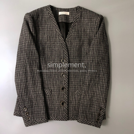 110 Jackie jacket in Gray (Pre-order)
