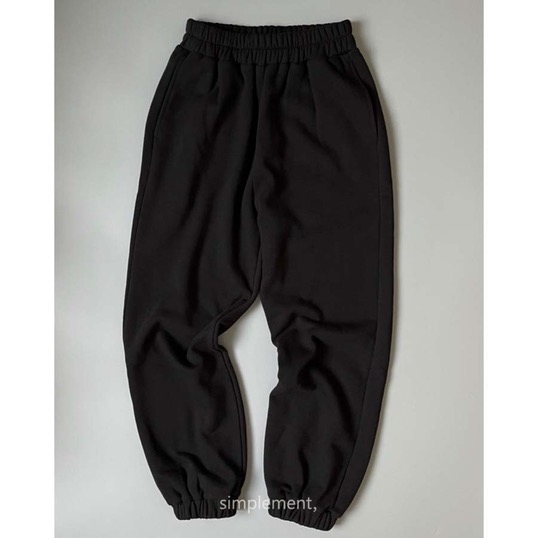 172 Sentier Jogger Pants in Black