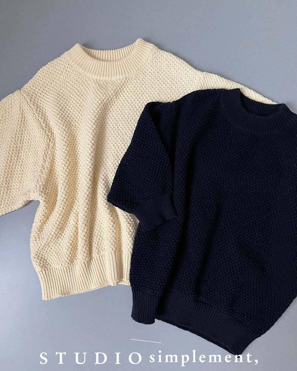194 Point de Riz Sweater (Made in ITALY)